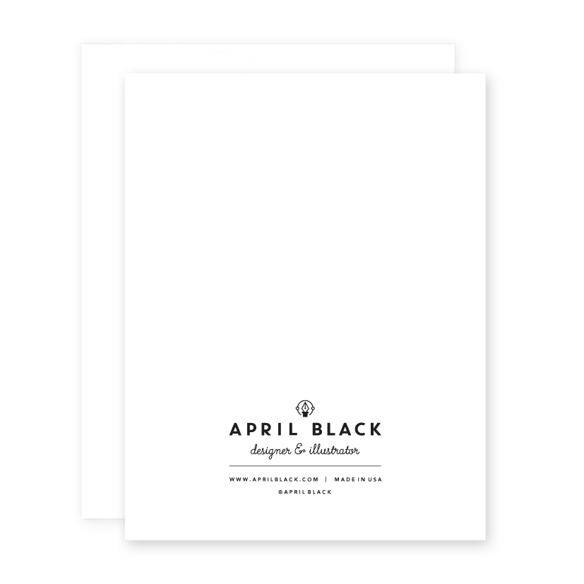 Greeting card psychic april black greeting card psychic m4hsunfo