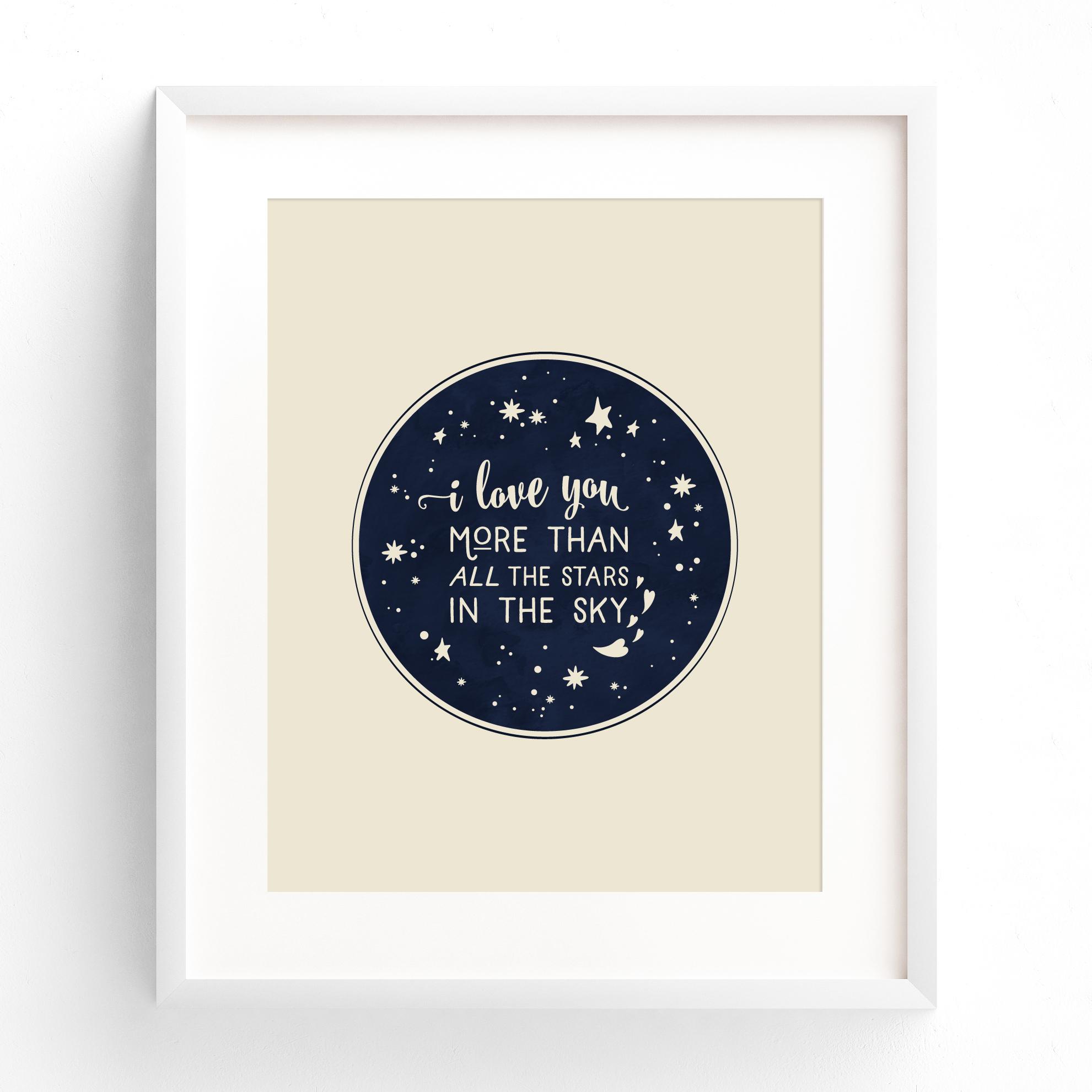 love_stars_print